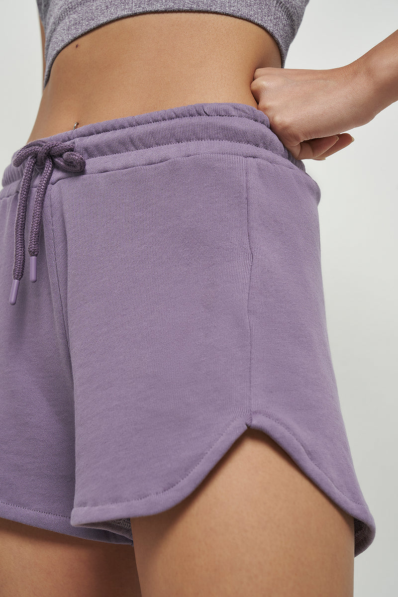 Relaxed Fit High Waist Shorts