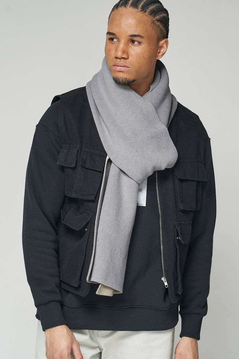 Two Tone Blanket Unisex Scarf