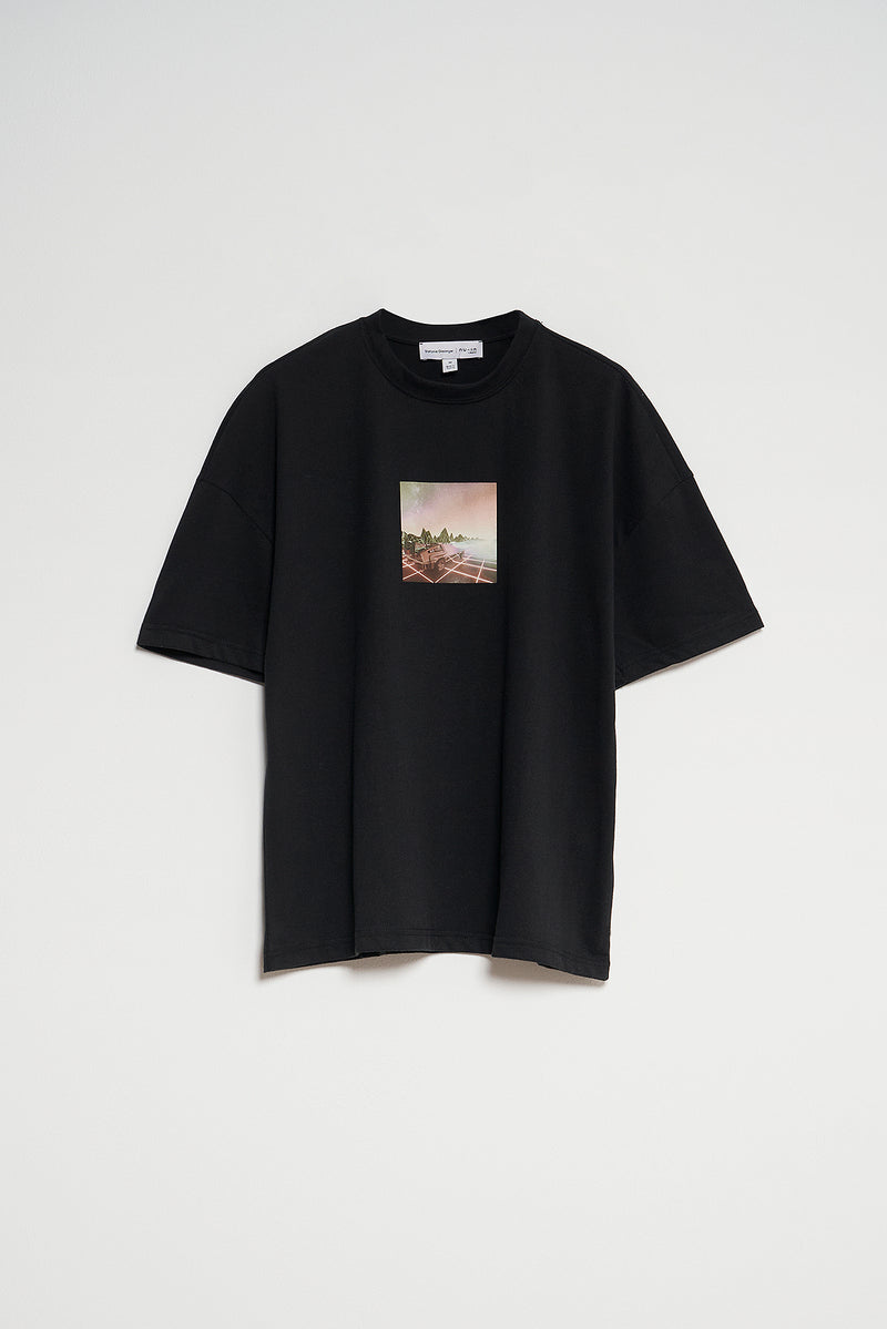 100% Recycled Horizon Oversized T-shirt