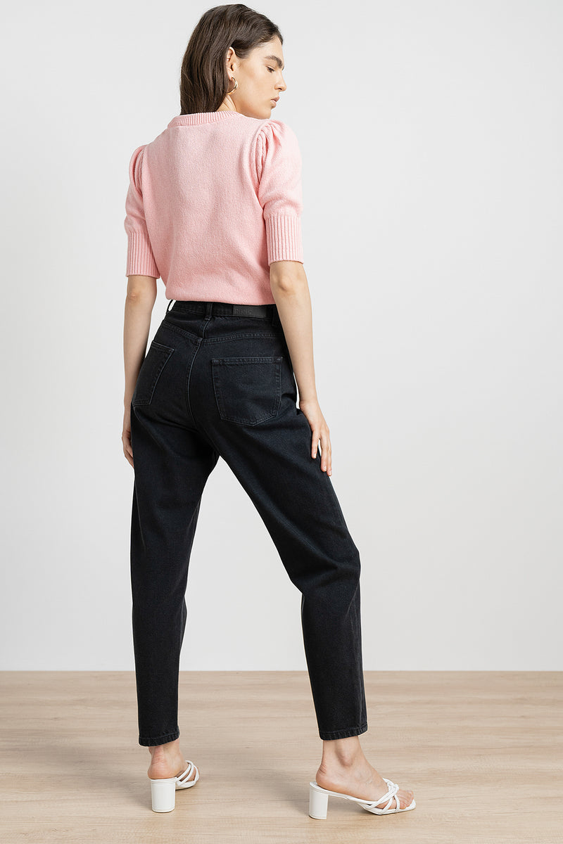High Rise Slim Fit Mom Jeans