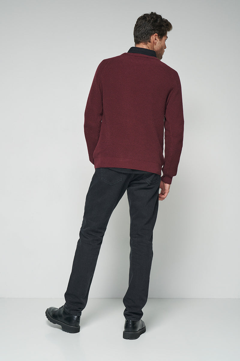 100% Recycled Mid Rise Regular Tapered Jeans