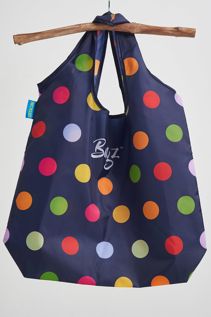 100% Recycled Dots Bag