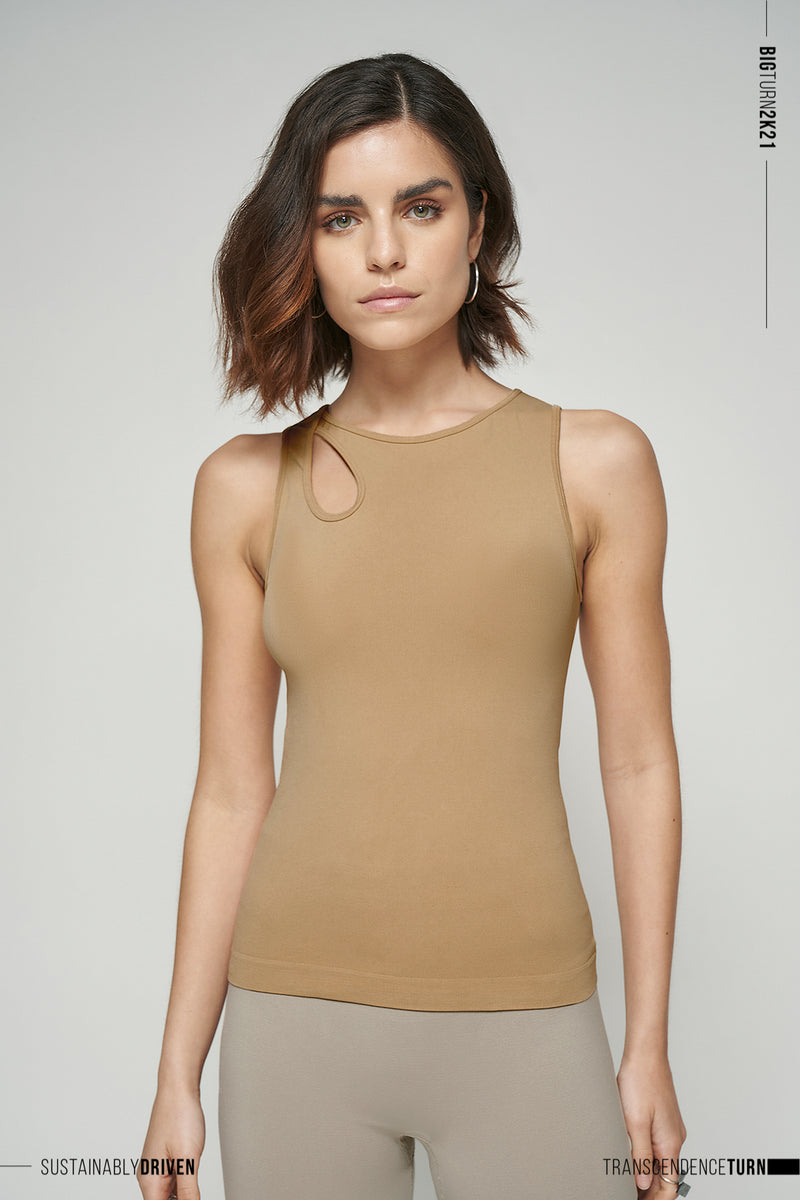 Limited Edition Seamless Cut Out Top