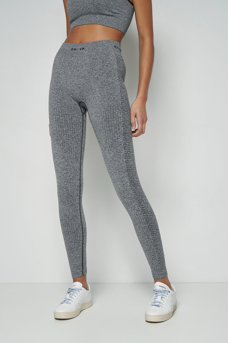 Seamless Logo High Waist Leggings