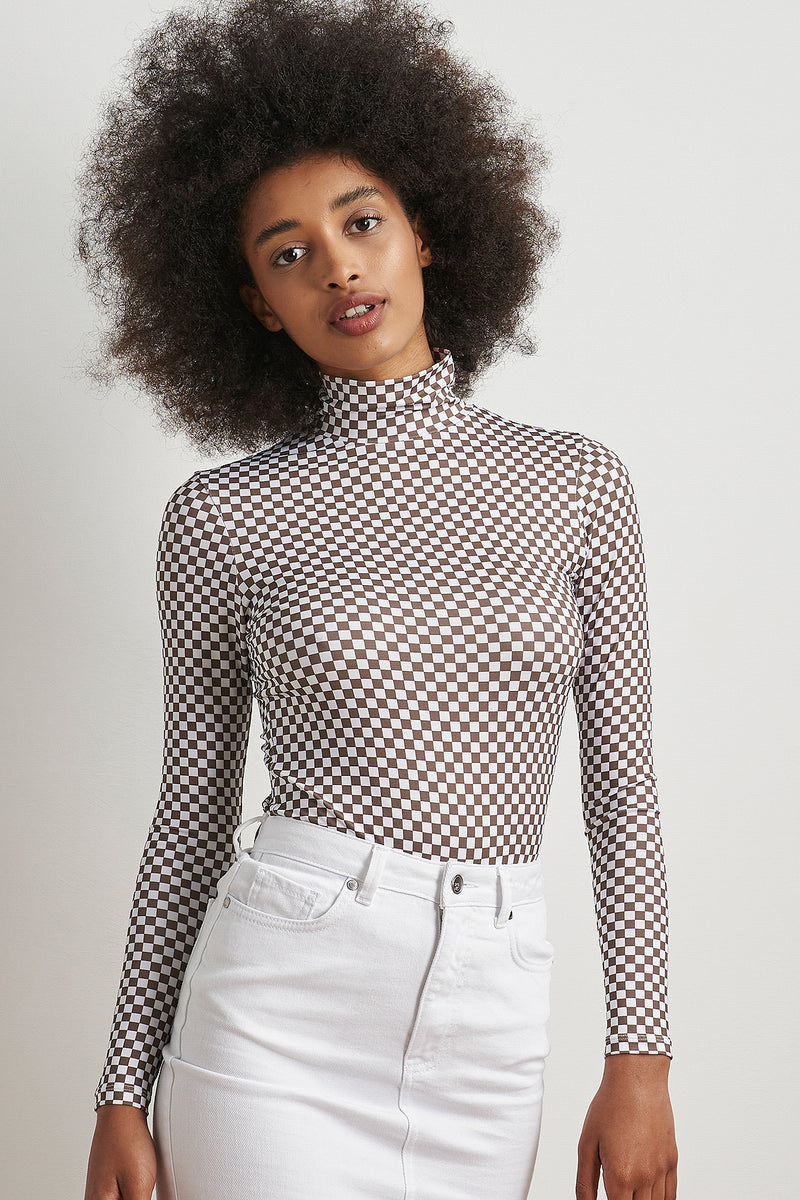 Second Skin Turtle Neck Top