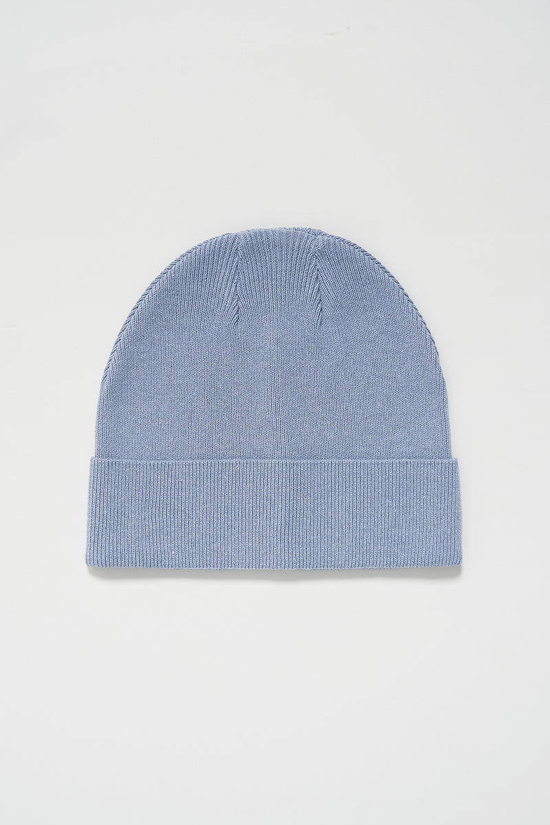 100% Upcycled Blend Wide Brim Beanie