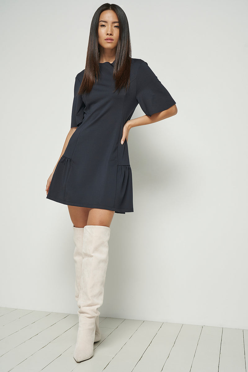 Angel Sleeve Mini Dress