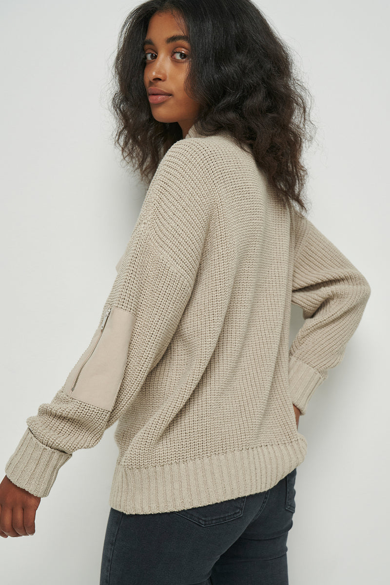 Cargo Funnel Neck Jumper