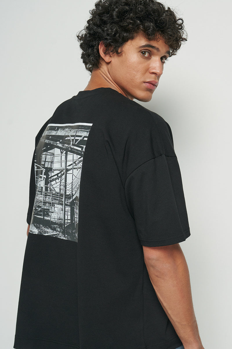 Construction Oversized T-shirt