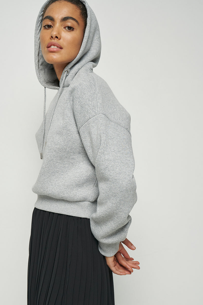 100% Recycled Cropped Hoodie