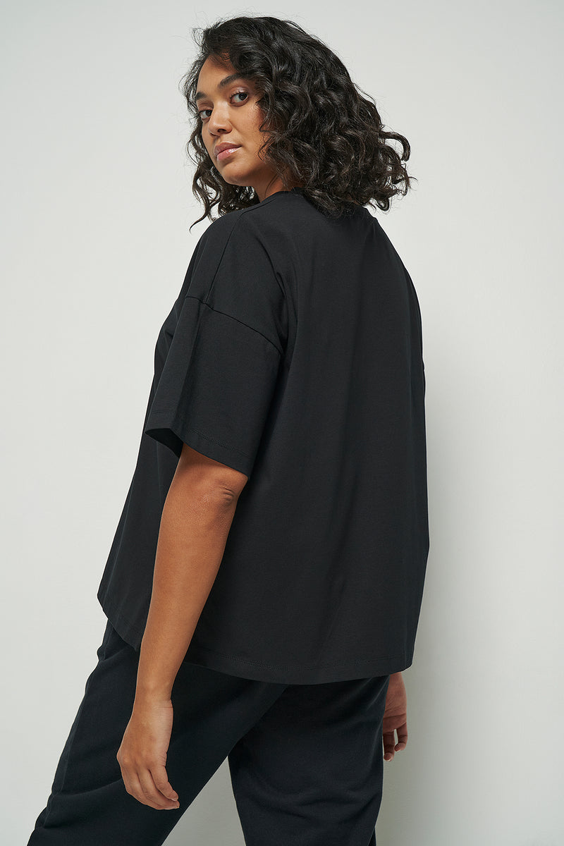 Drop Shoulder Relaxed Fit T-shirt