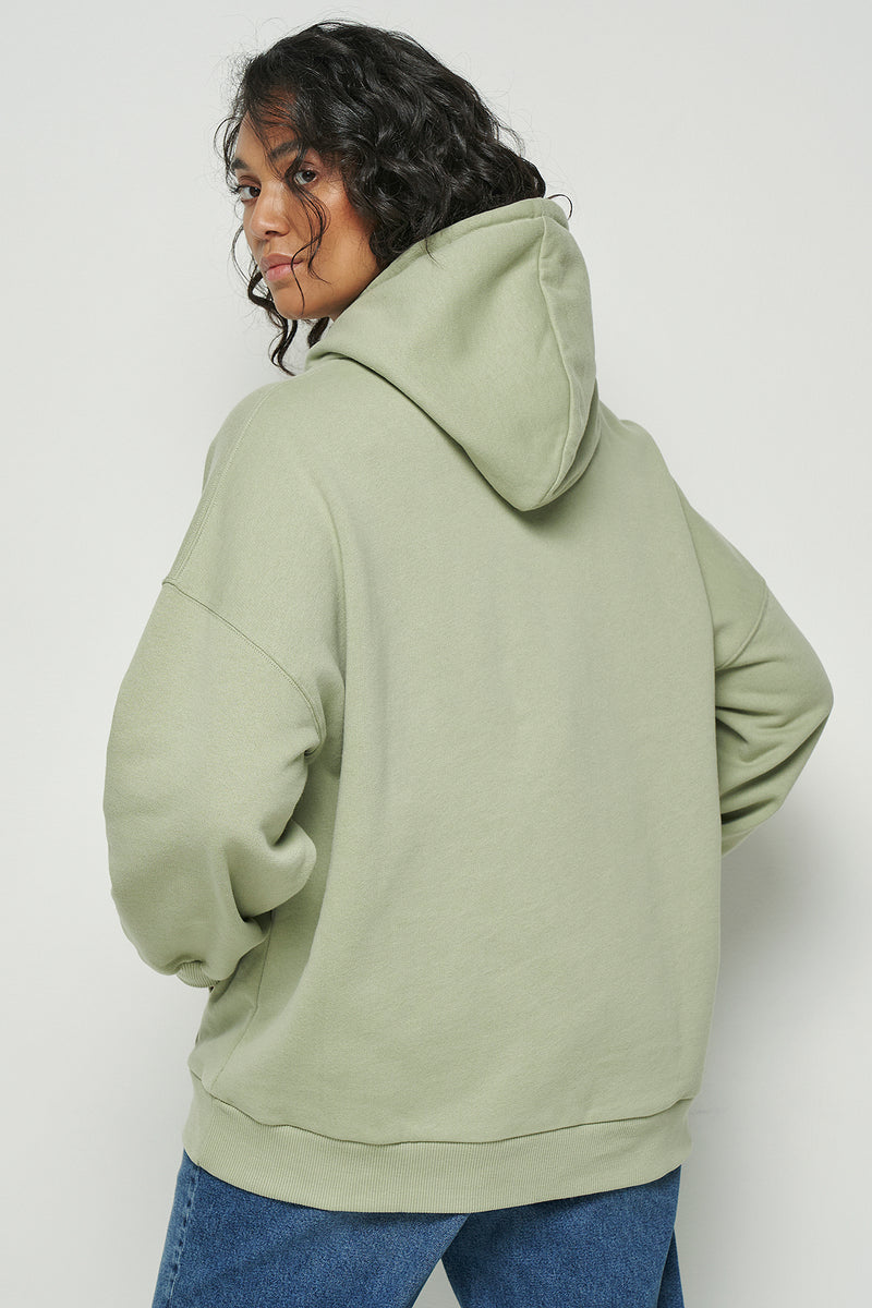 Drop Shoulder Oversized Hoodie