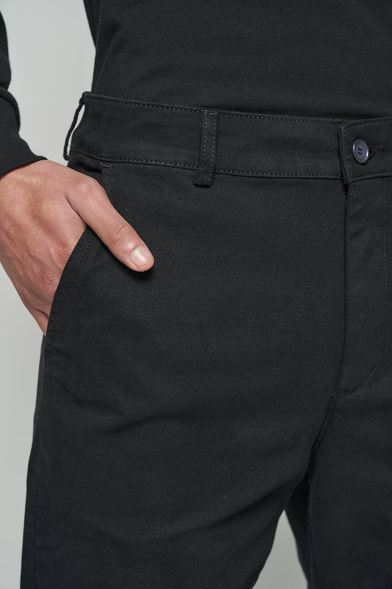 Front Crease Straight Leg Pants