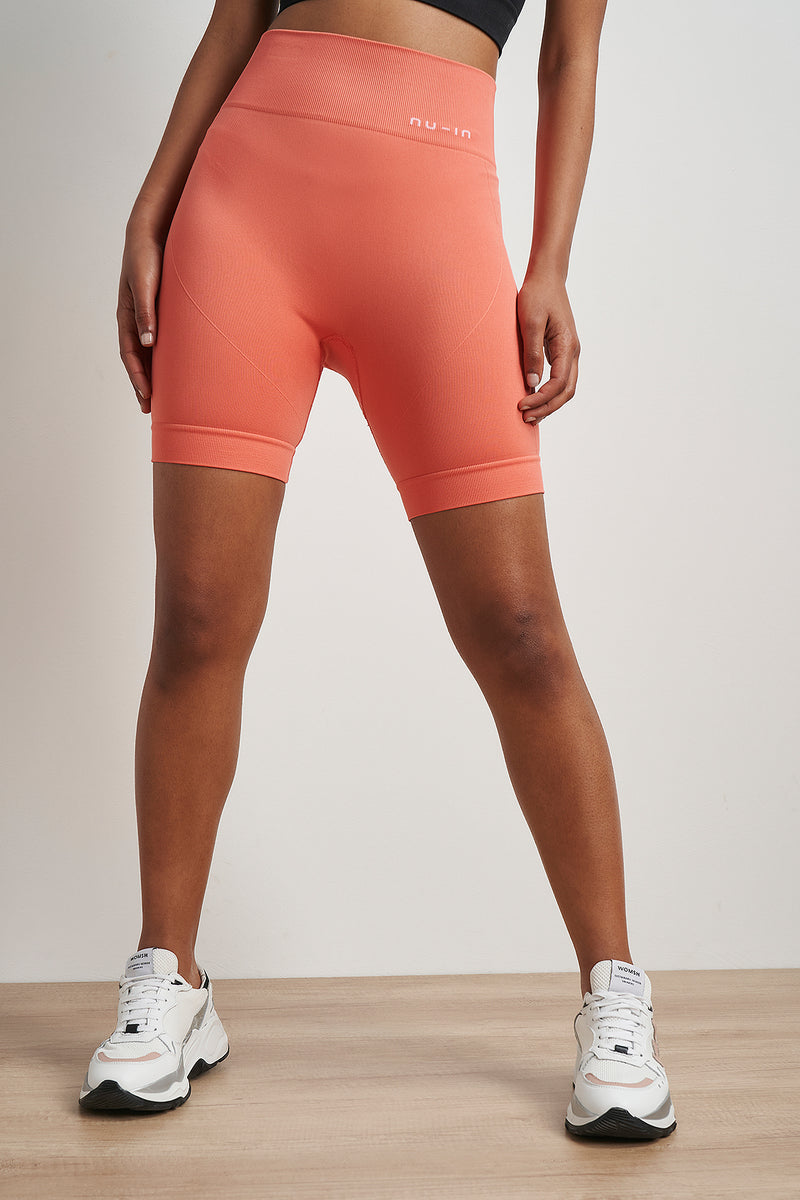 High Waist Cycling Shorts
