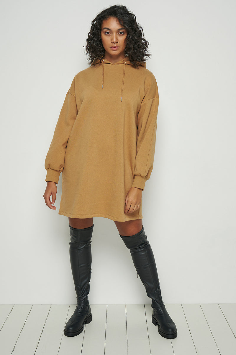 100% Recycled Hoodie Mini Dress