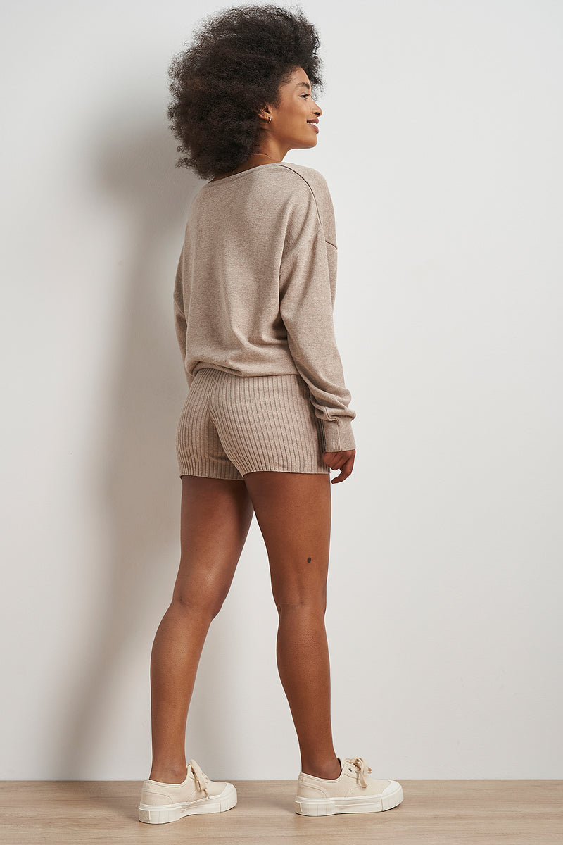 100% Recycled Knitted Shorts