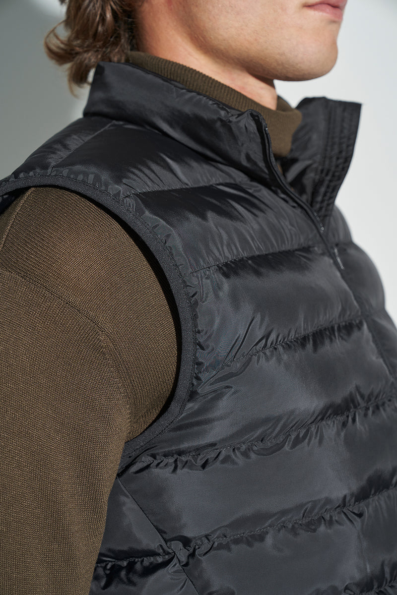 100% Recycled Light Quilted Vest