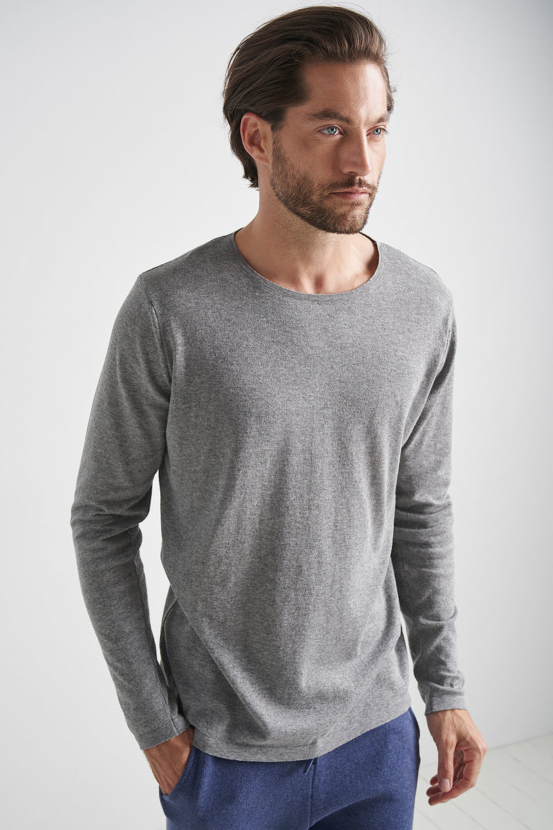 100% Recycled Lightweight Crew Neck Jumper