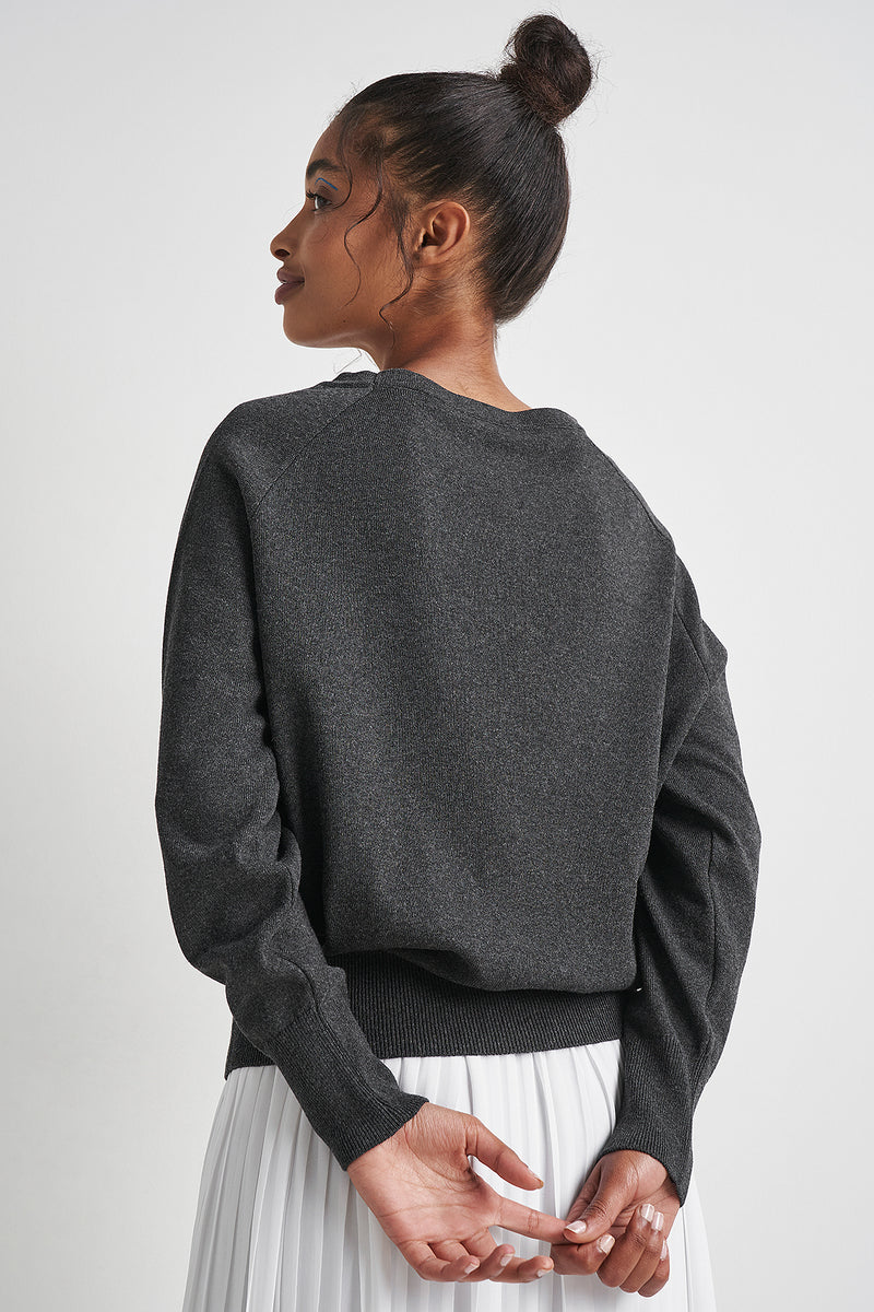 100% Recycled Lightweight Round Neck Jumper