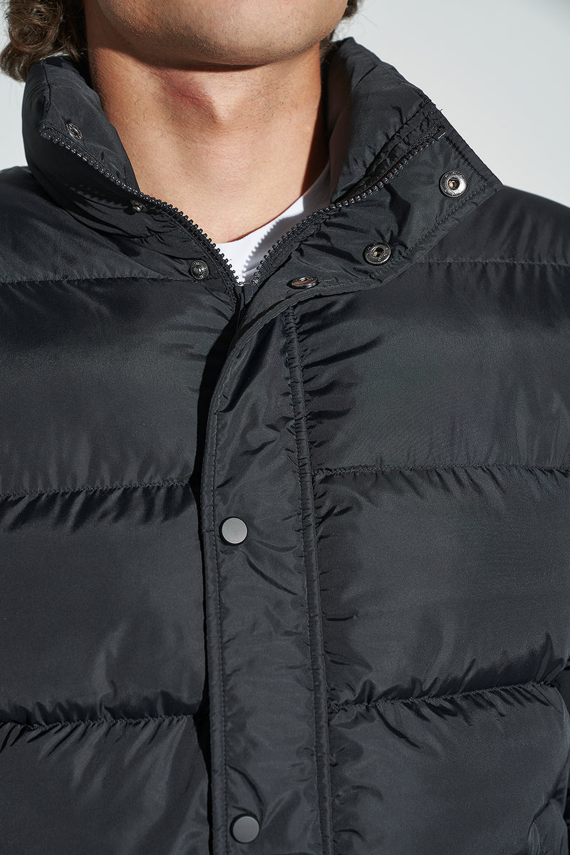 100% Recycled Puffer Jacket