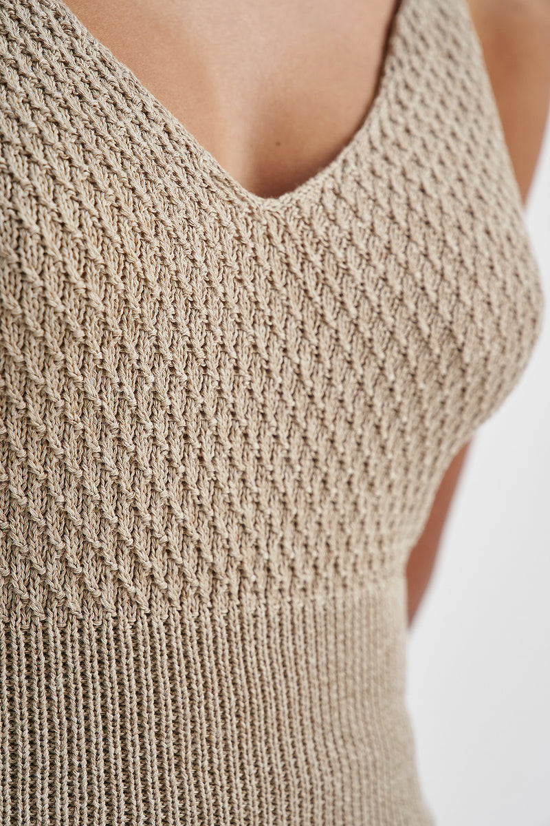 Seamless Knitted Singlet