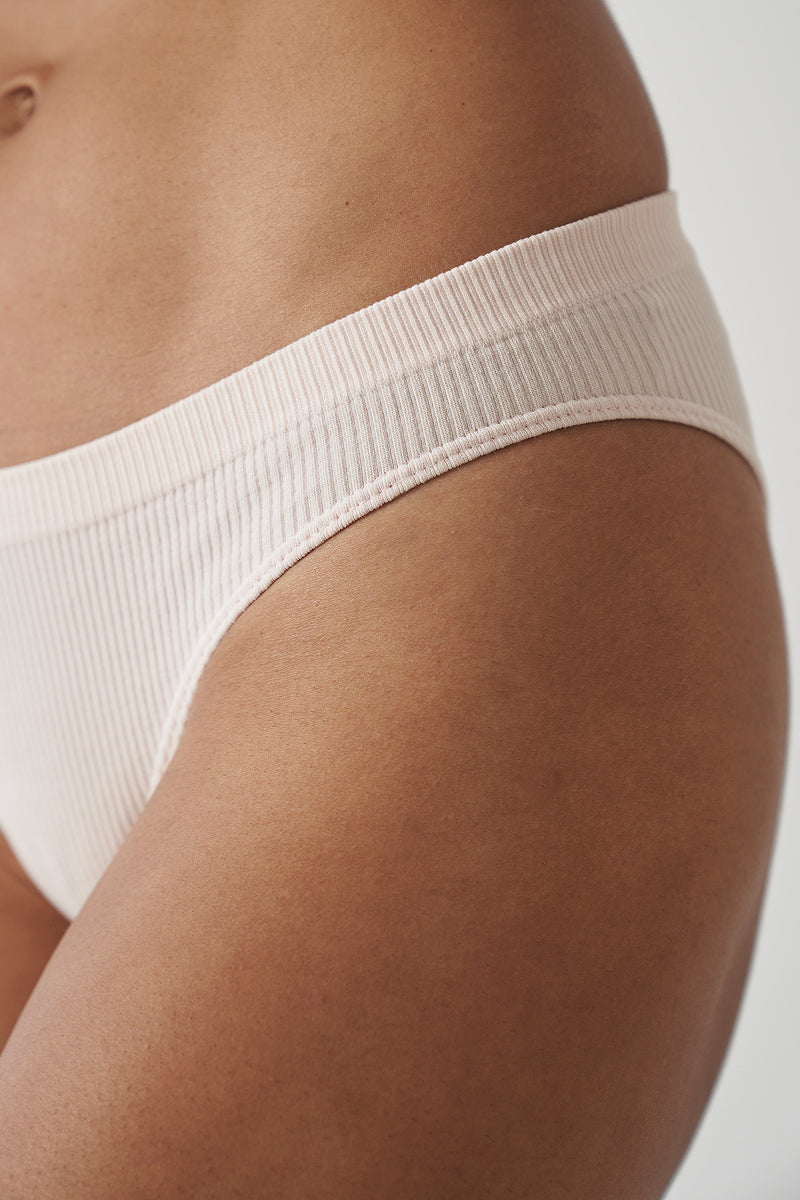 Seamless Ribbed Low Rise Briefs