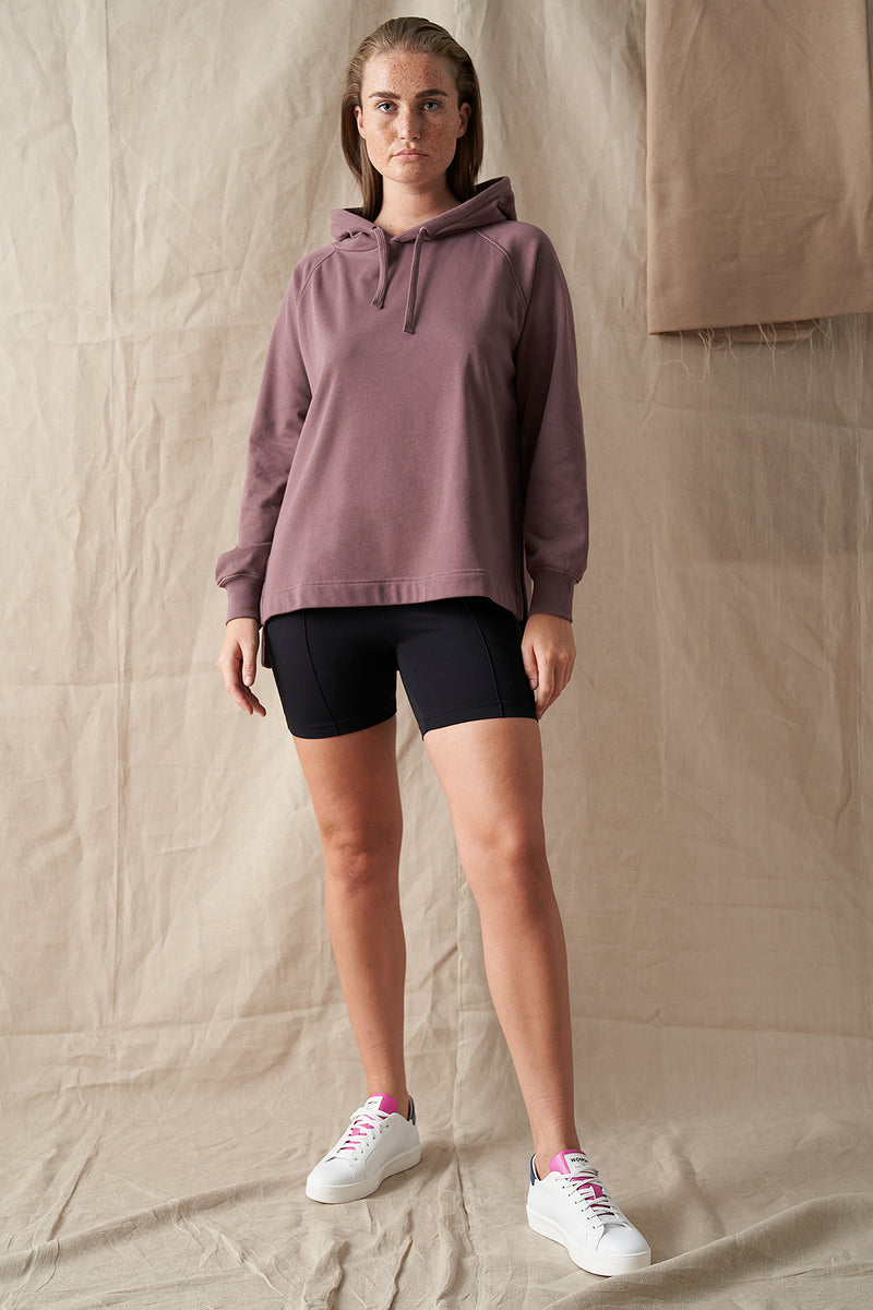 Side Vent Oversized Hoodie