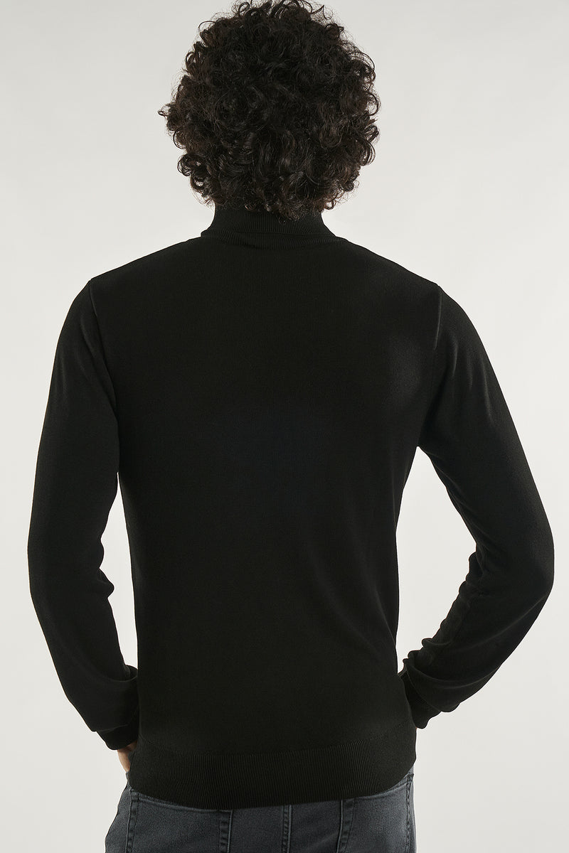 Slim Fit Turtleneck Sweater