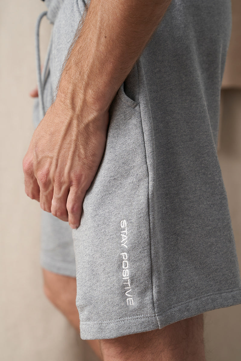 100% Organic Stay Positive Unisex Lounge Shorts