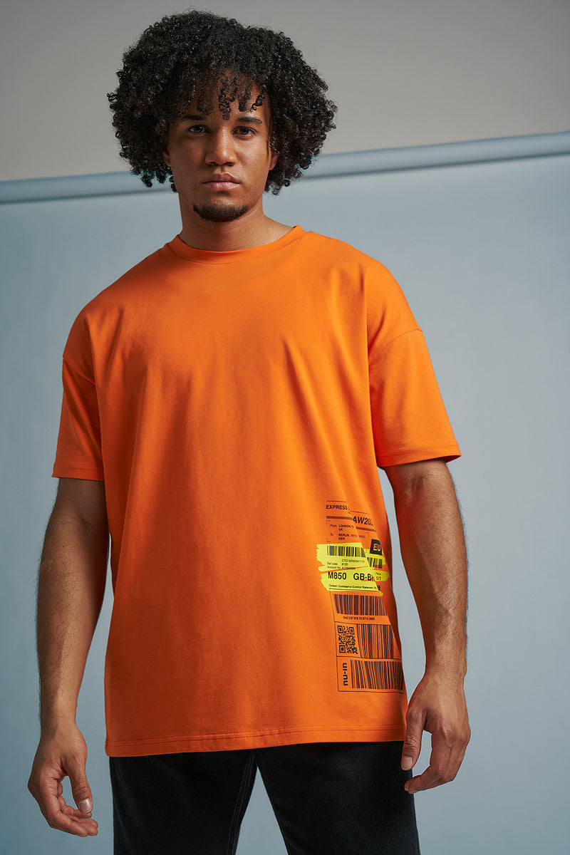 Way Bill Oversized T-Shirt