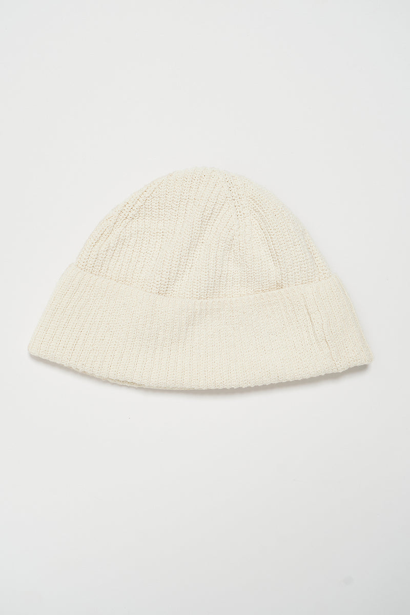 Ribbed Wide Brim Beanie