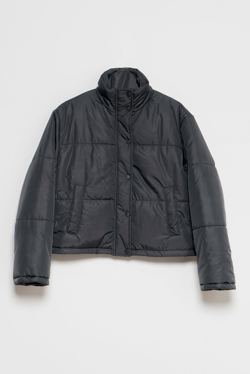 100% Recycled Short Puffer Jacket