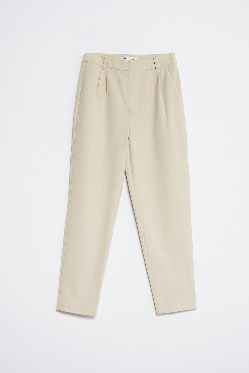 Tapered Tailored Pants