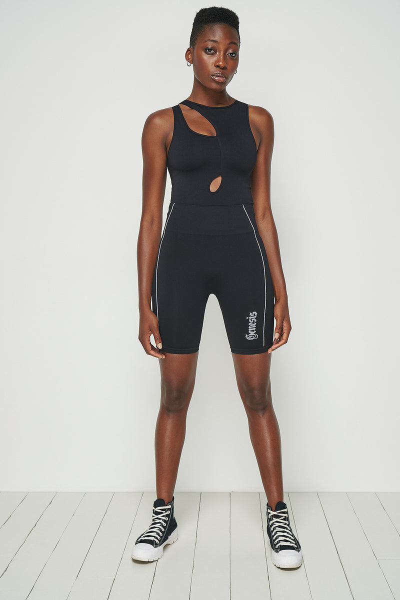 Asymmetric Seamless Bodysuit