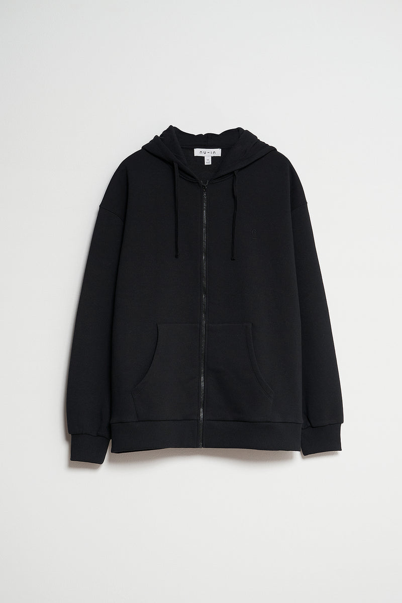 100% Organic Cotton Zip Up Hoodie