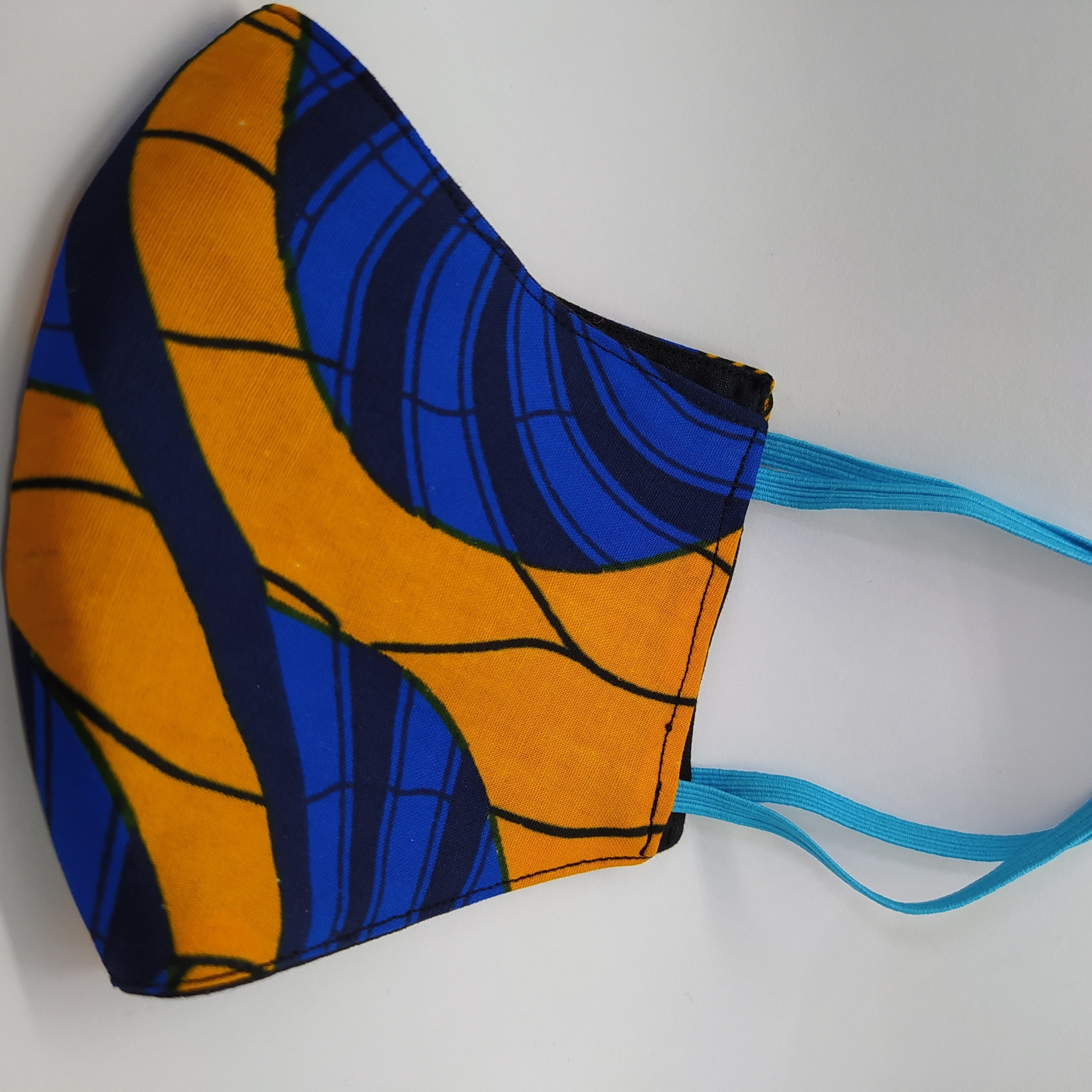Ankara Reusable Face Mask (Tanaka)