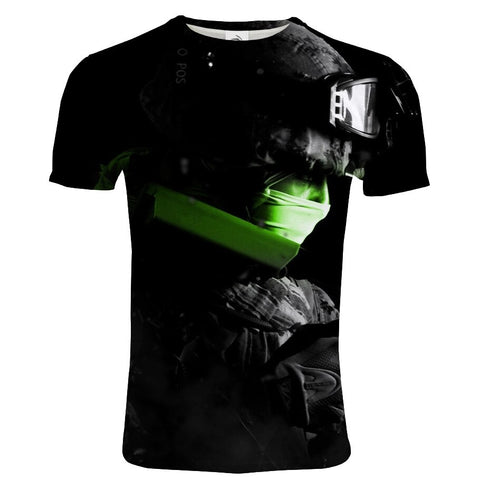 COD Modern Warfare 3D Printed T-shirt