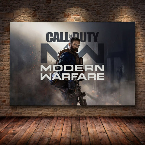 Call of Duty Frameless Wall Poster