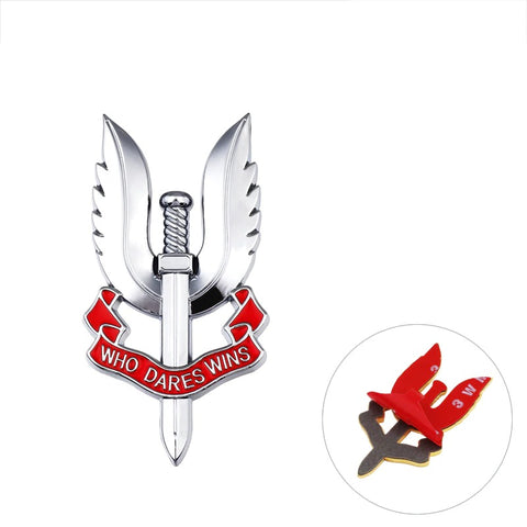 COD Task Force 3D Metal Badge