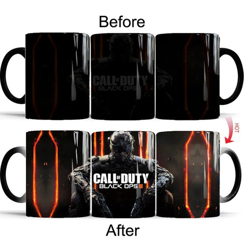 COD 350ml Color Changing Mug