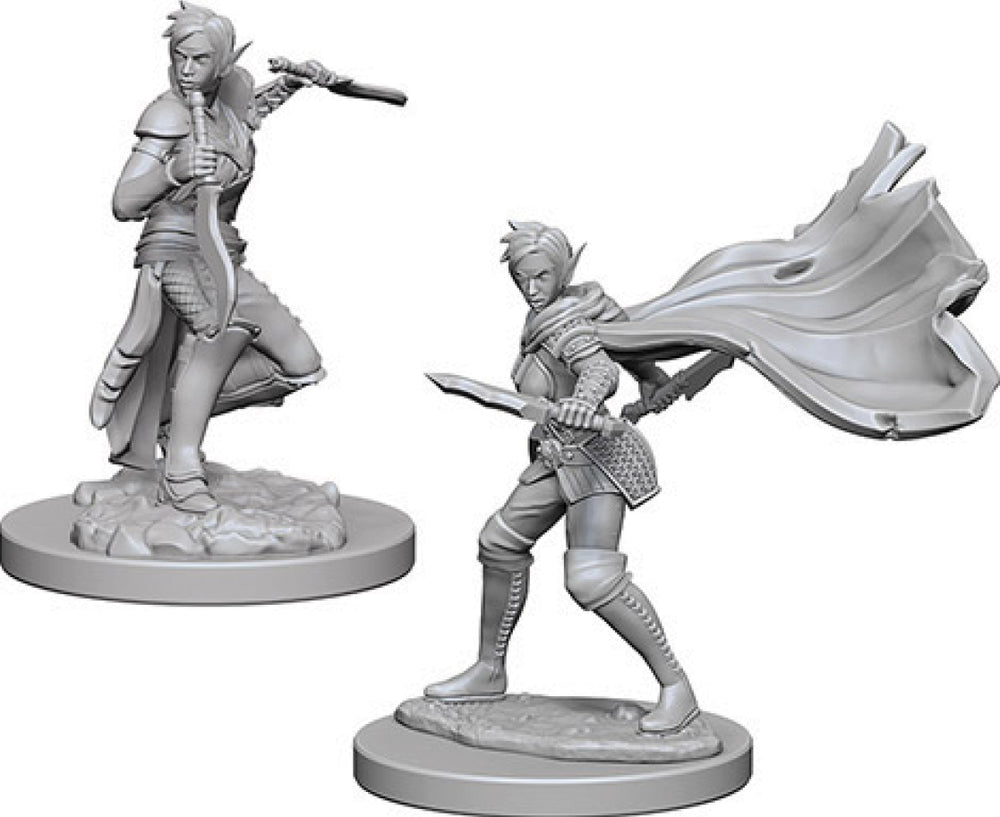 Pathfinder Deep Cuts Unpainted Miniatures: W4 Elf Female Rogue