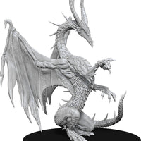 Pathfinder Deep Cuts Unpainted Miniatures: W14 Blue Dragon