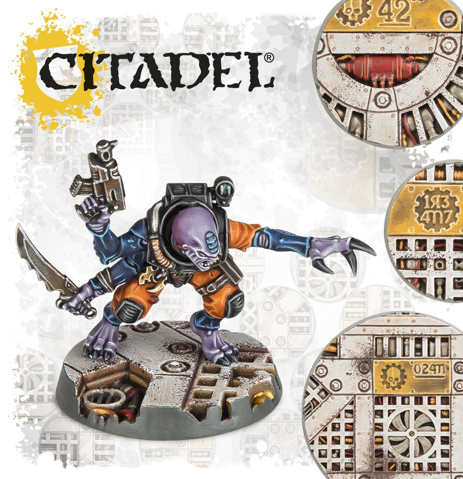 Warhammer 40K Citadel: Sector Mechanicus - Industrial Bases