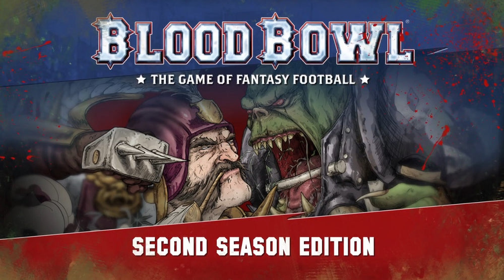 Warhammer Blood Bowl: The Game of Fantasy Football