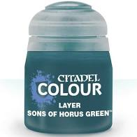Citadel Layer Paint: Sons of Horus Green