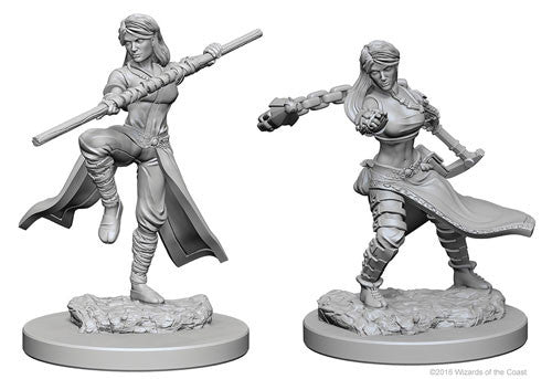 D&D Nolzur's Marvelous Unpainted Minis: W1 Human Female Monk