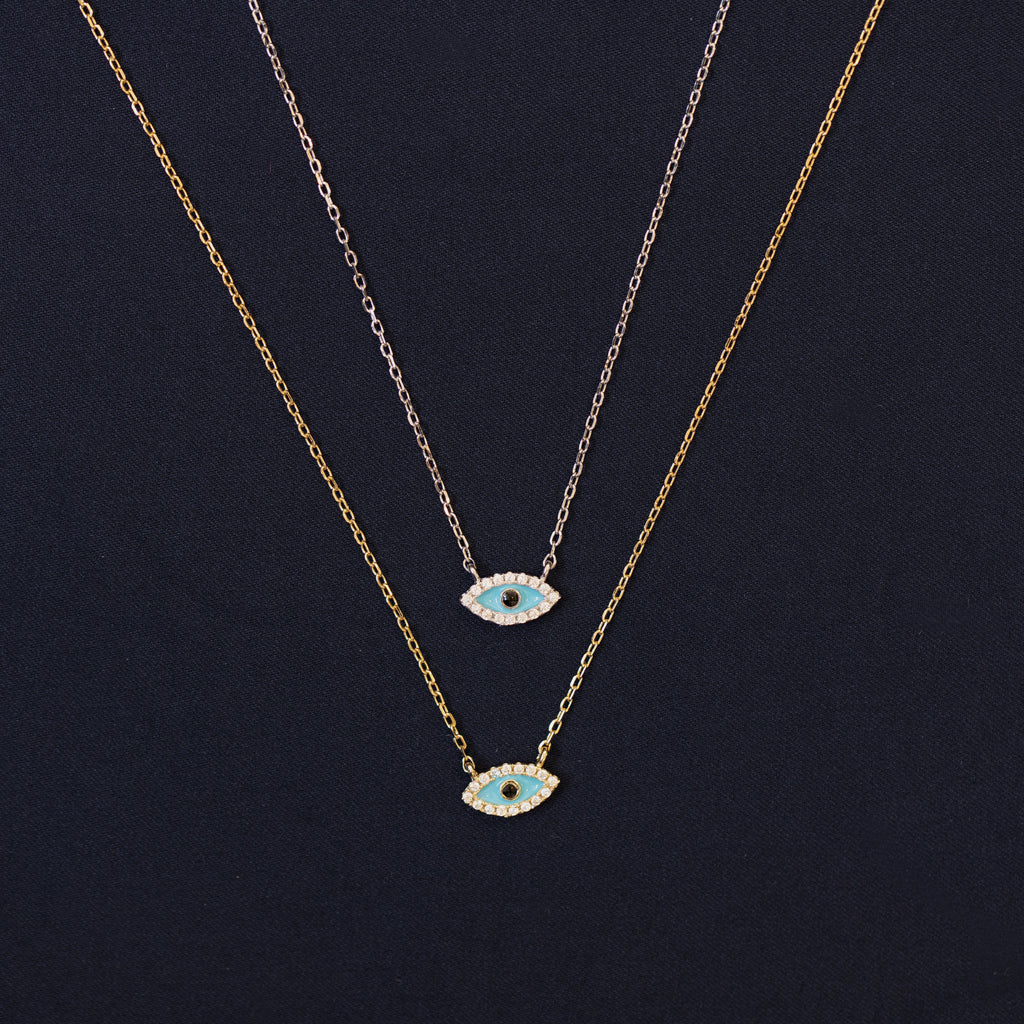 Evil Eye Necklace - Lulu B Jewellery