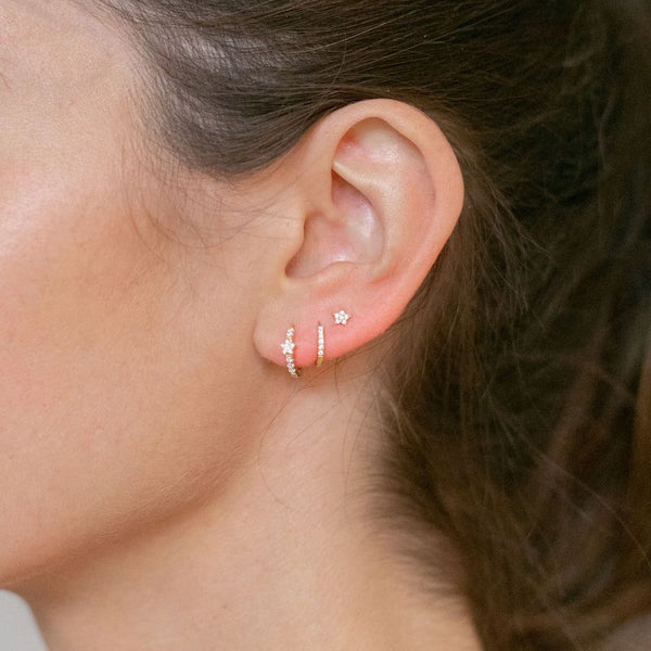 Mini Lightning/Star Studs - Lulu B Jewellery