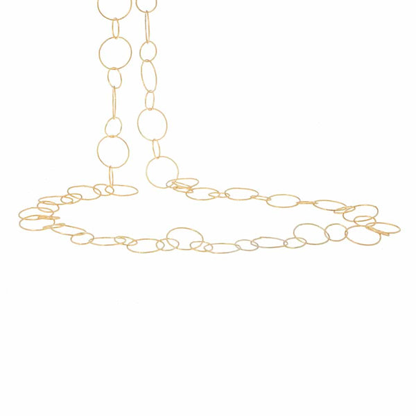 Gold Rosie Chain Necklace - Lulu B Jewellery