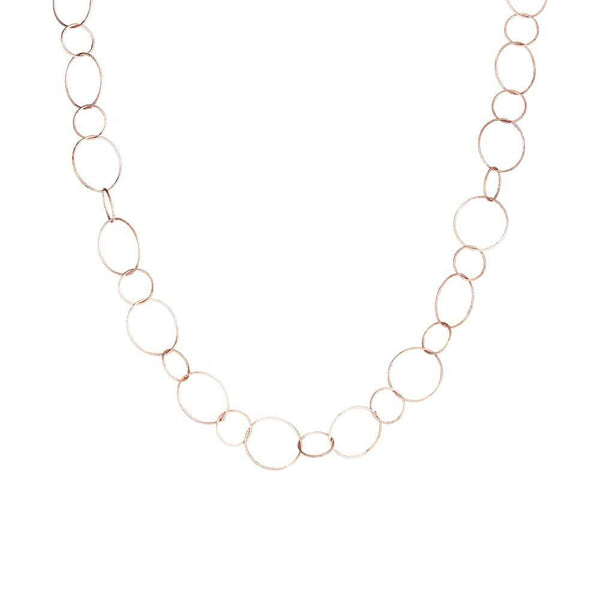 Rose Gold Rosie Chain Necklace - Lulu B Jewellery